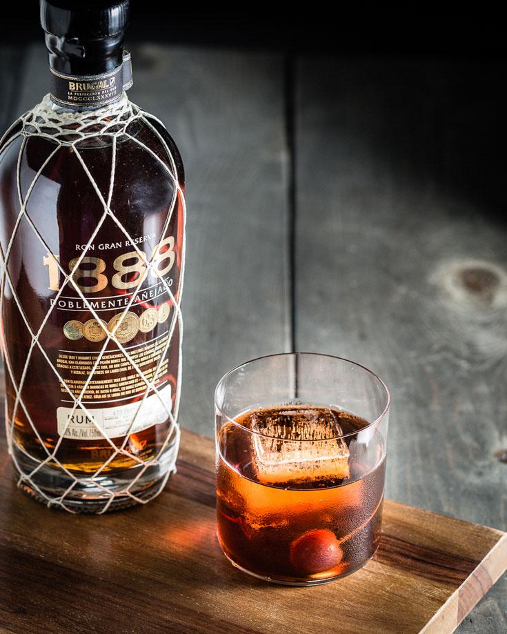 1888 Rum Manhattan 2 on board