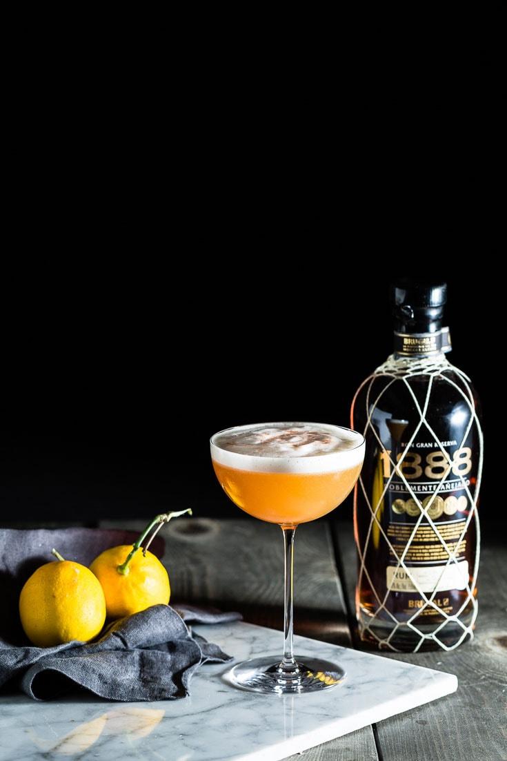 1888 Rum Sour Hero