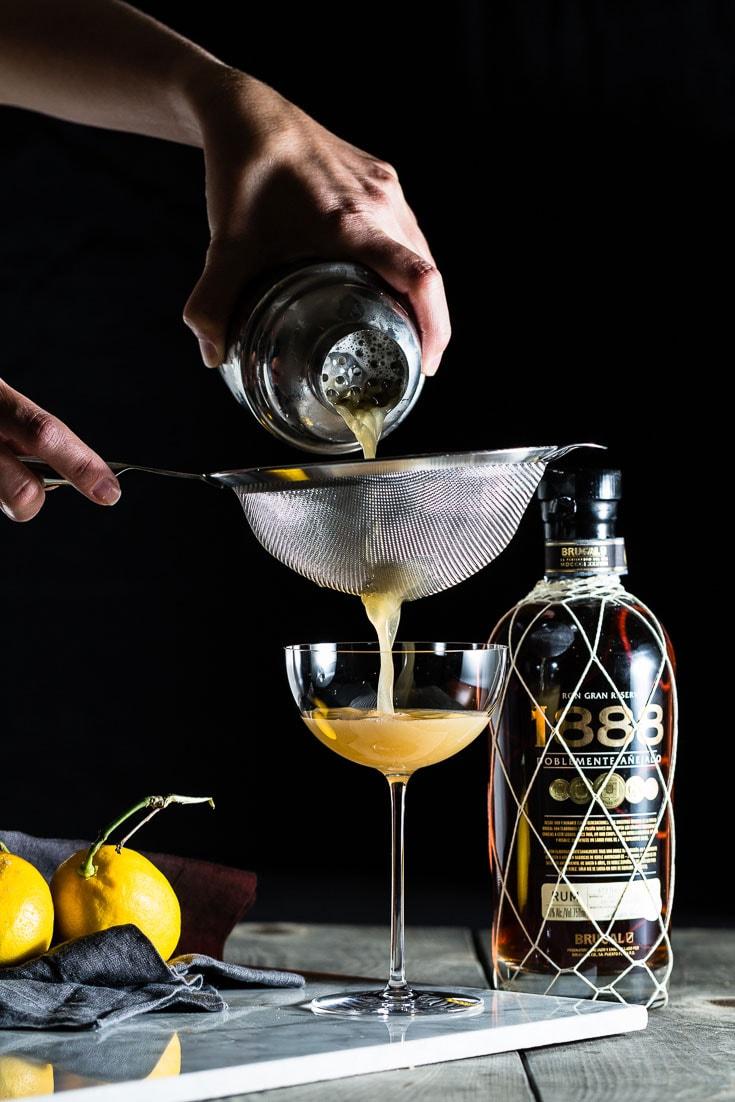 1888 Rum Sour Pour