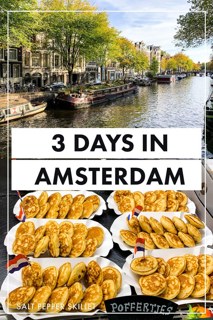Amsterdam Travel Guide - Family and toddler-friendly guide to visiting one of the most beautiful cities in Europe over three days with a full itinerary including the best things to do and places to stay. #amsterdam #traveltips