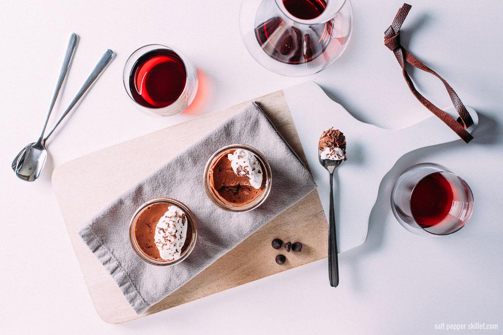 Chocolate Pots de Creme | SaltPepperSkillet.com