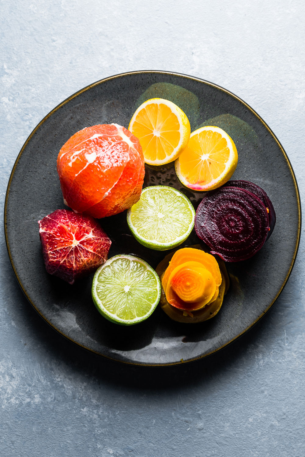 Citrus and Beet Salad Ingredients