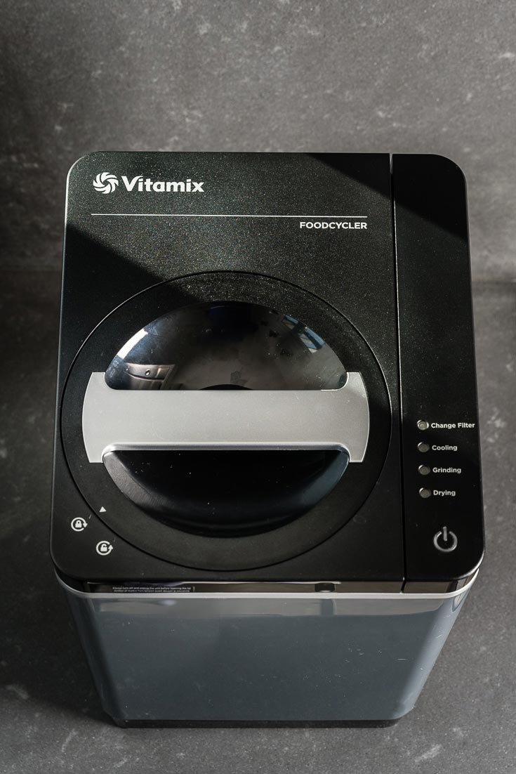 Vitamix FoodCycler FC-50 on Counter overhead