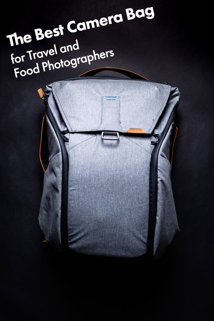 The Peak Design Everyday Backpack is a camera bag that's as smart as you are, and it's the best photography bag I've ever owned. #camerabag #photographytips