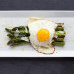 asparagus and fried egg