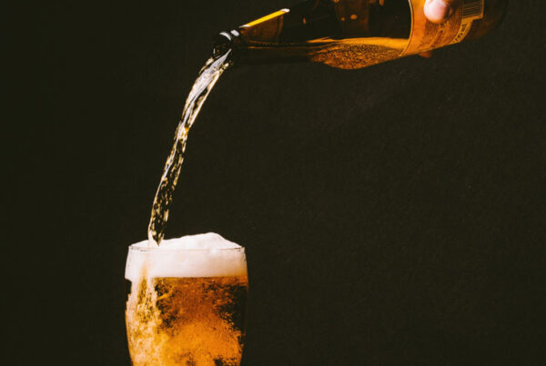 Beer 101 - pouring beer into glass