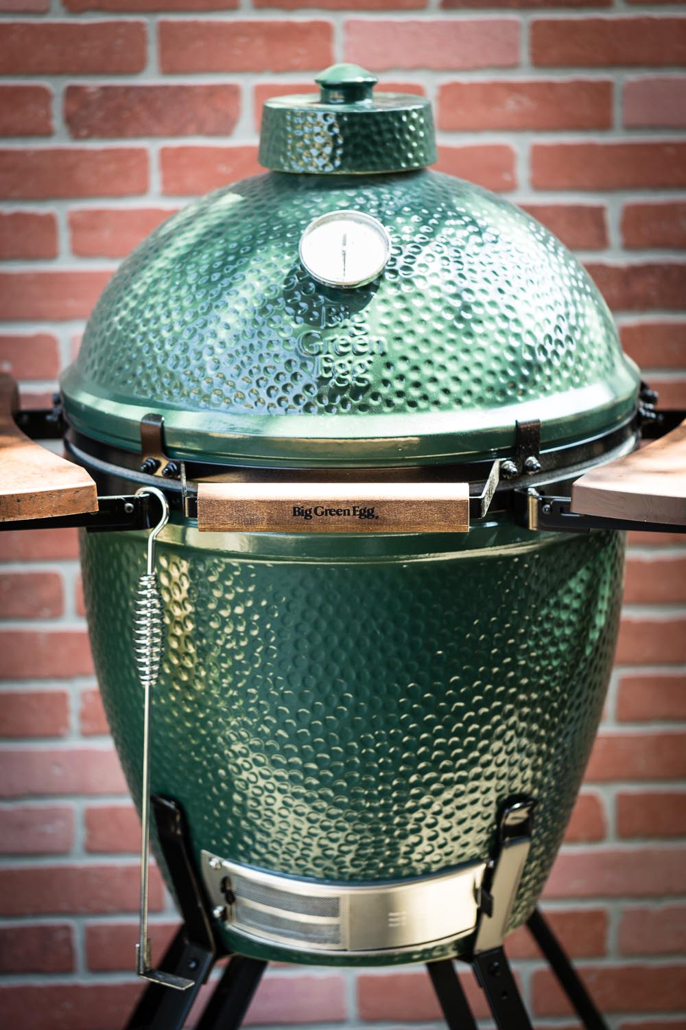 big green egg vertical