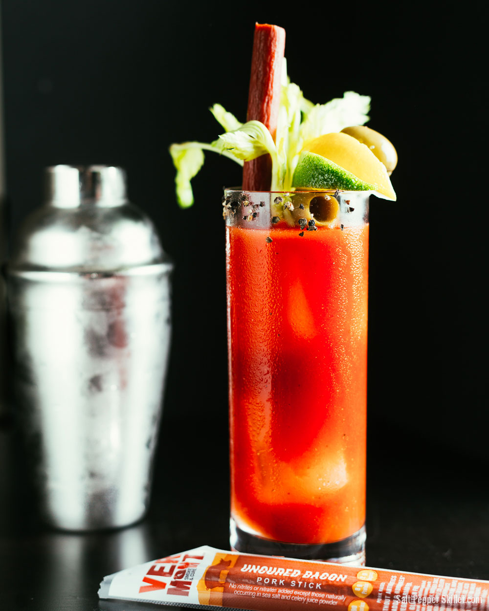 Bloody Mary Recipe | SaltPepperSkillet.com