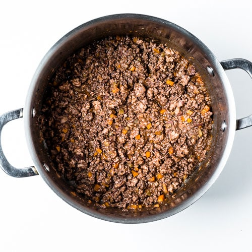 Bolognese Sauce Process 3