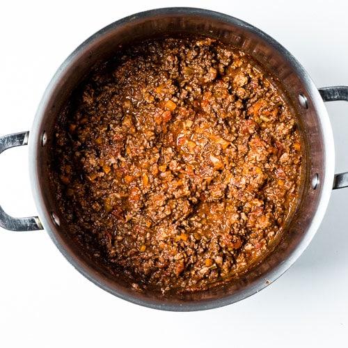 Bolognese Sauce Process 5