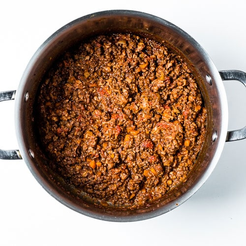 Bolognese Sauce Process 6