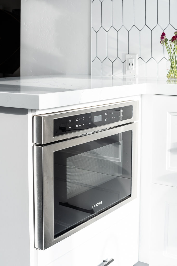 bosch 800 Series Drawer Microwave