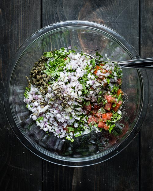 breadcrumb salsa ingredients
