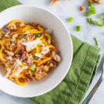Butternut Squash Noodles with Walnuts Recipe | SaltPepperSkillet.com