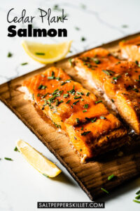 Cedar Plank Salmon Pin