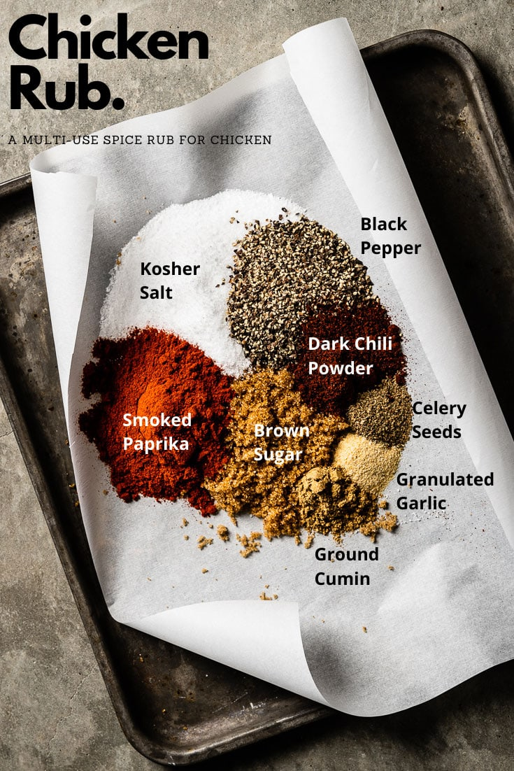 Chicken Rub Ingredients