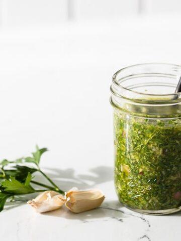 chimichurri sauce recipe horizontal