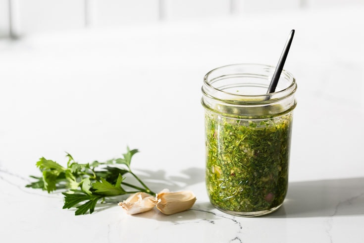 chimichurri sauce recipe horizontal