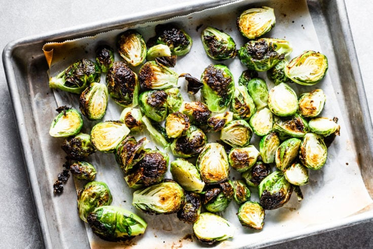 Crispy Roasted Brussels Sprouts Recipe