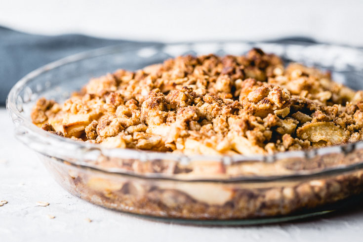 easy apple crisp horozontal