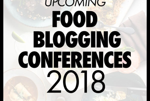 Upcoming Food Blogging Conferences
