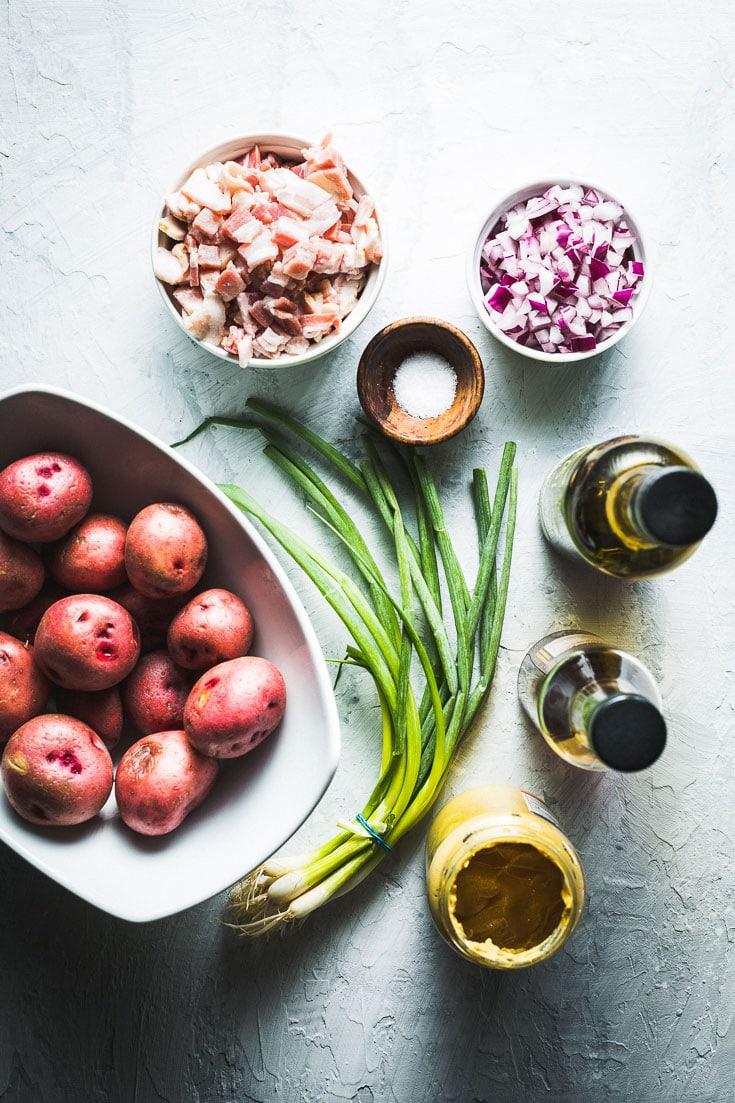 german potato salad ingredients