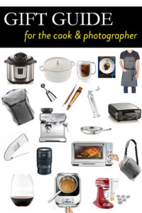 Gift Guide for the Cook and the Photographer