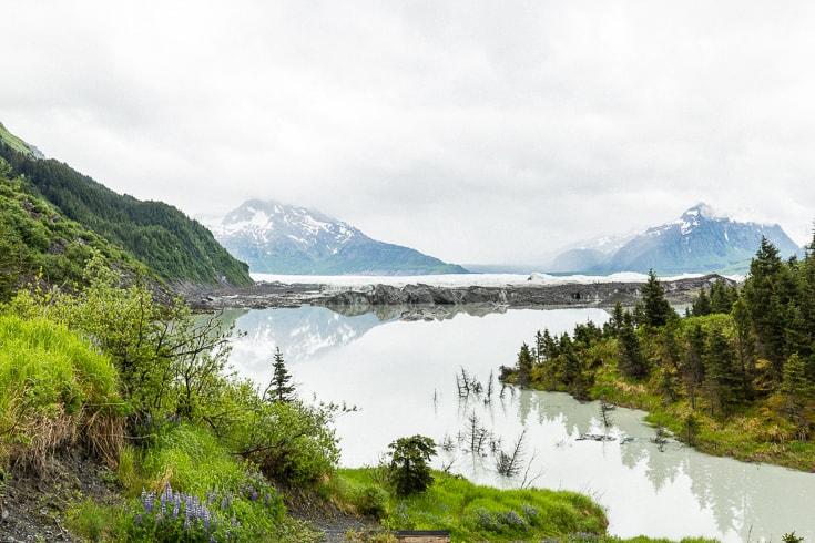 glacier near cordova alaska