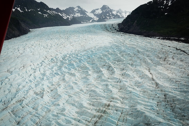 glacier near the copper river alaska