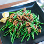 Green Bean and Bacon Salad | SaltPepperSkillet.com