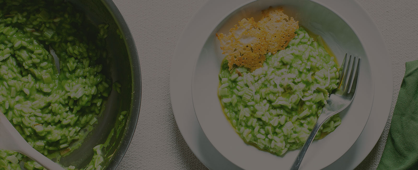 Green Garlic Risotto