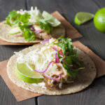 Grilled Fish Tacos Recipe | SaltPepperSkillet.com