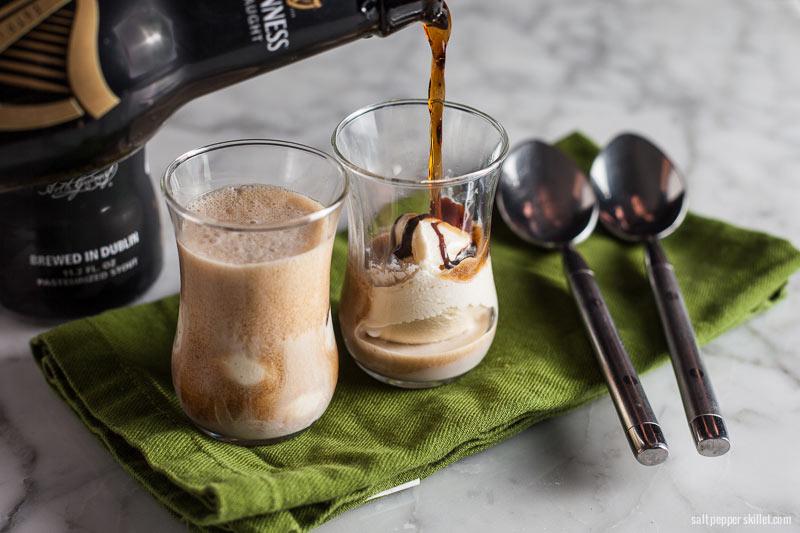 Guinness Float | SaltPepperskillet.com