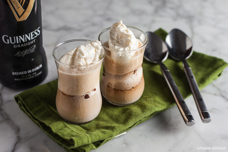 Guinness Float | SaltPepperskillet.com