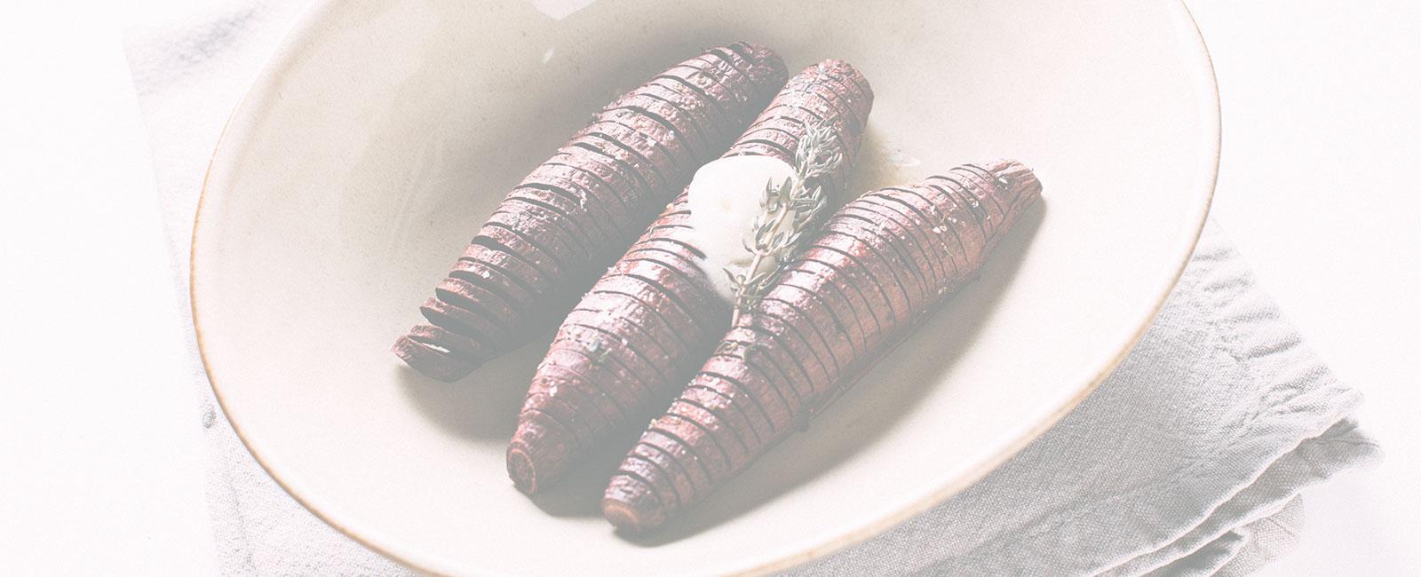 Hasselback Sweet Potatoes Recipe
