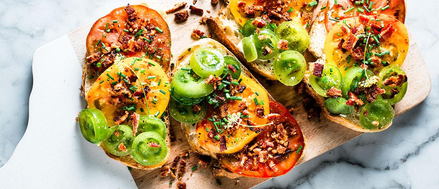 Heirloom Tomato Toast