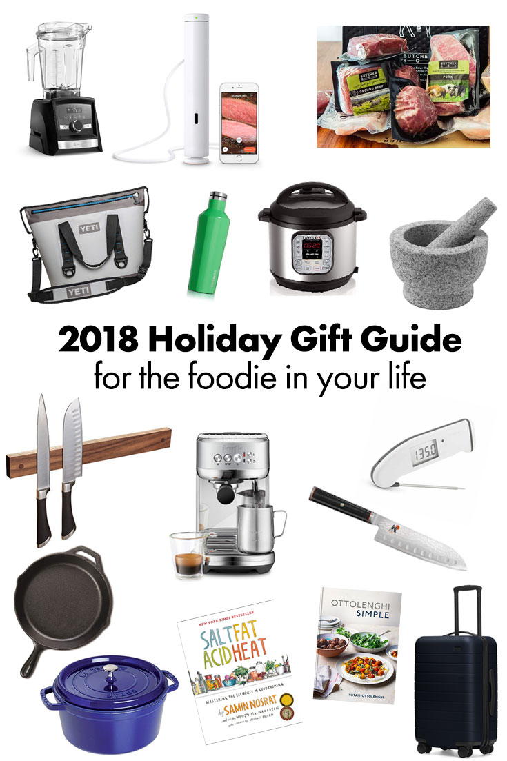2018 Holiday Gift Guide for the cooks and foodies in your life. #holidaygiftguide #giftguide