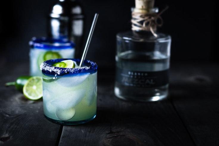 Hot and Smoky Mezcal Margarita
