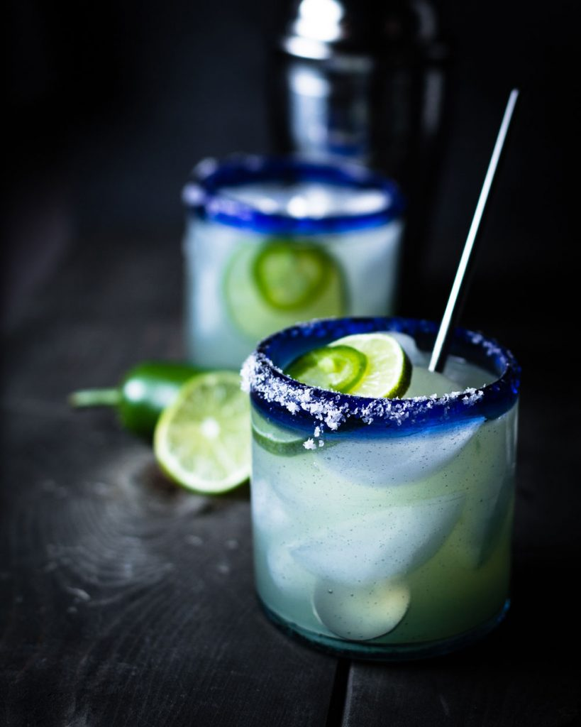 Hot and Smoky Mezcal Margarita