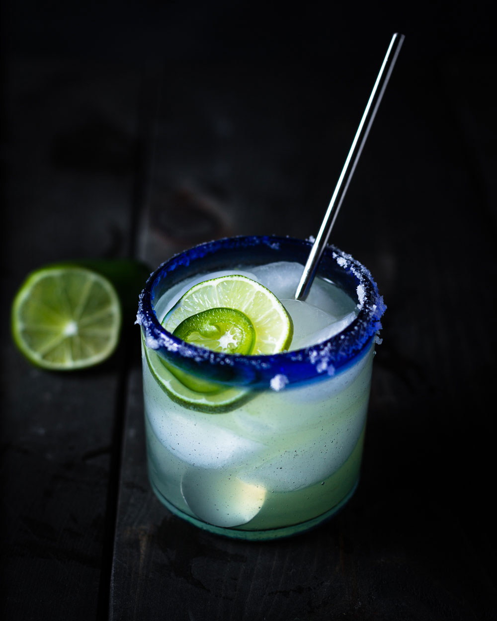 Hot and Smoky Mezcal Margarita · Salt Pepper Skillet