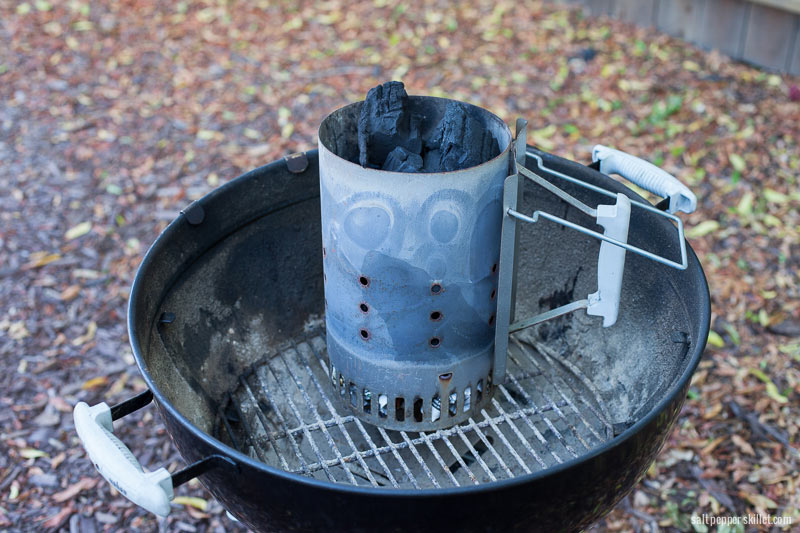 how to make a charcoal starter