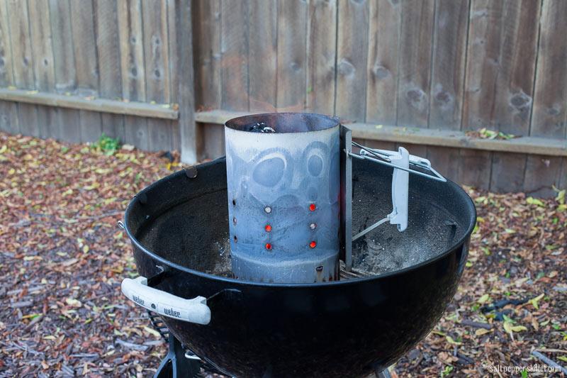How to use a chimney starter | SaltPepperSkillet.com