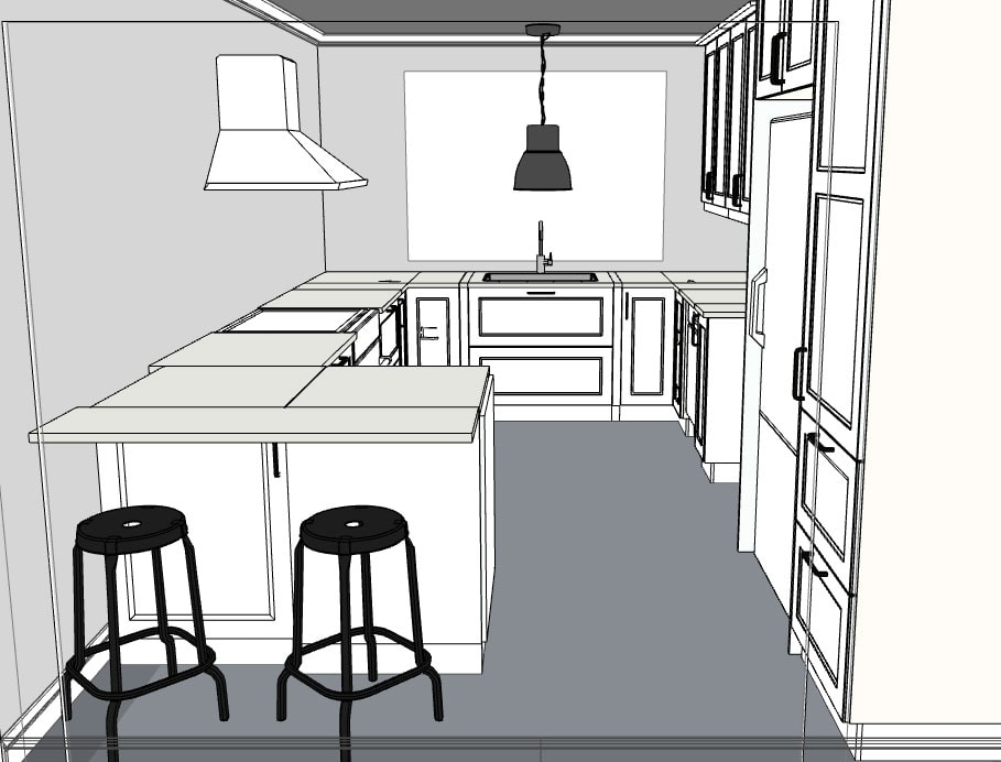 Ikea Kitchen 3d Line View