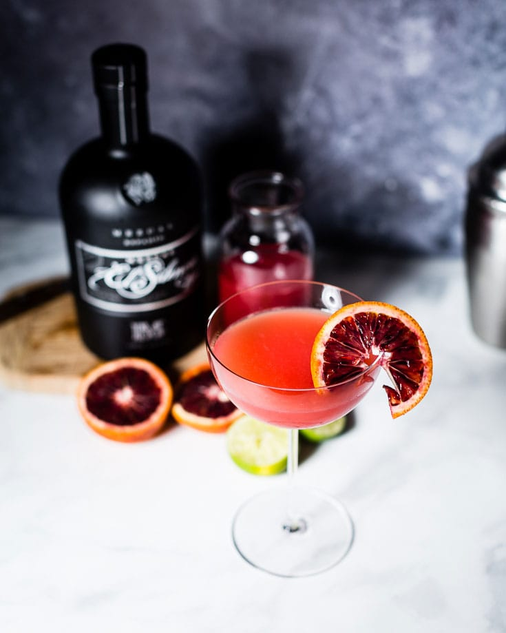 mezcal blood orange gimlet3-4 view