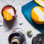 negroni cocktail recipe overhead