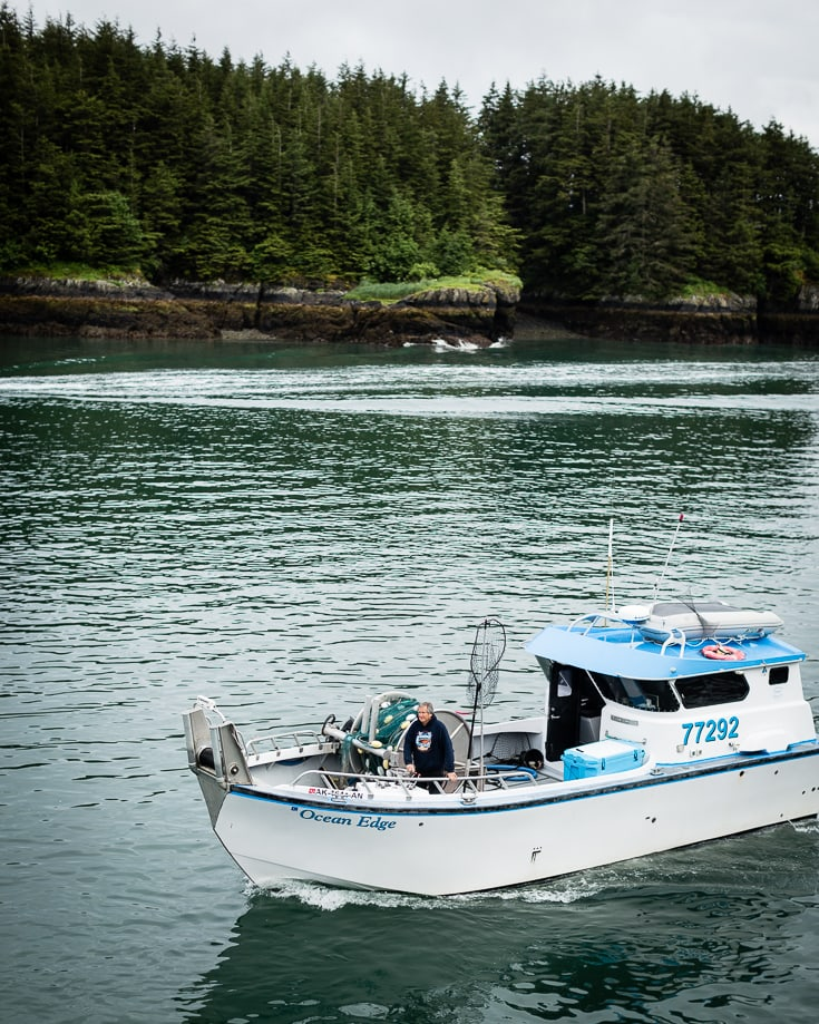 ocean edge copper river salmon boat