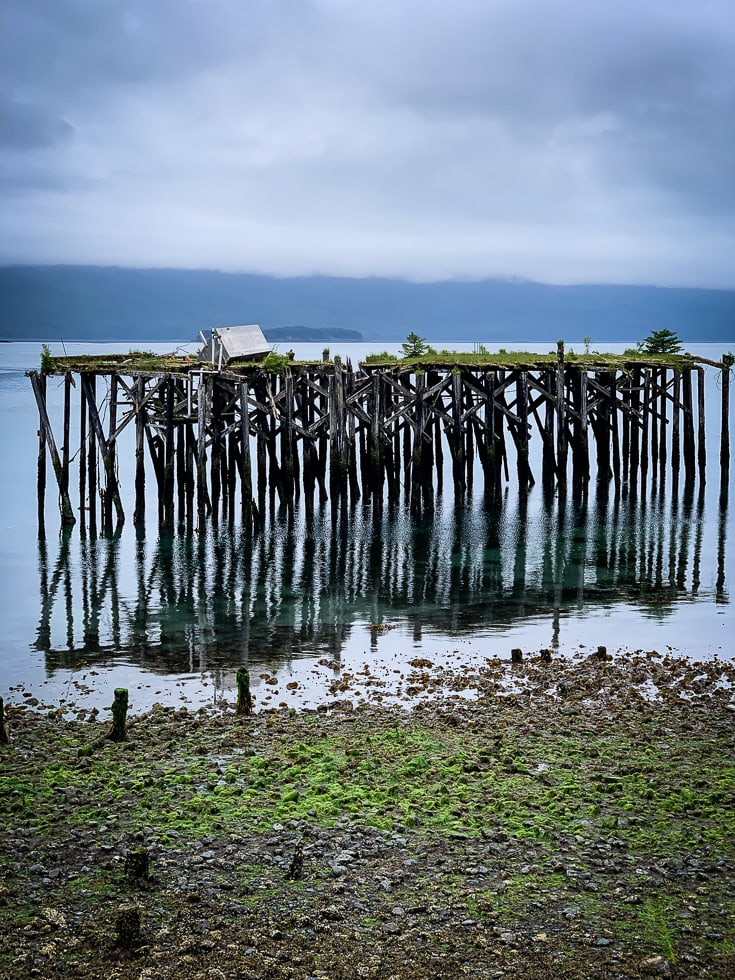 old pier near Orca Adventure Lodge