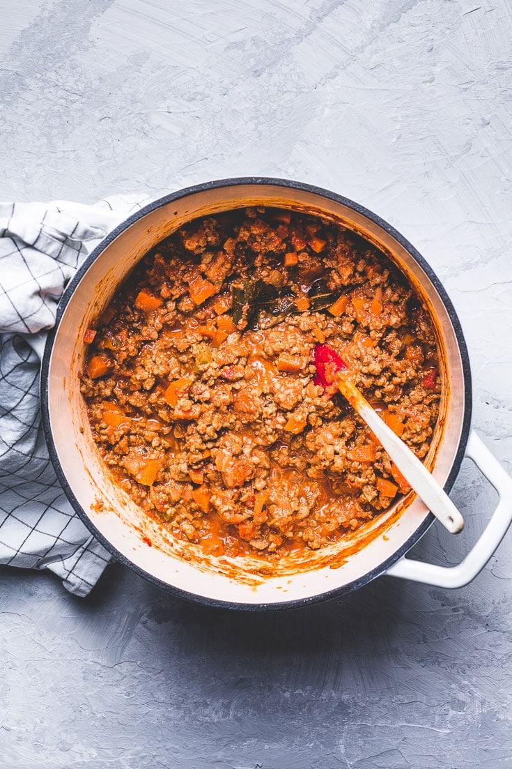 opah bolognese sauce