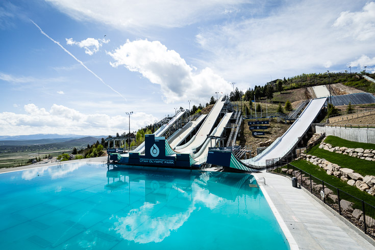 park city olympic park summer jump pool 1