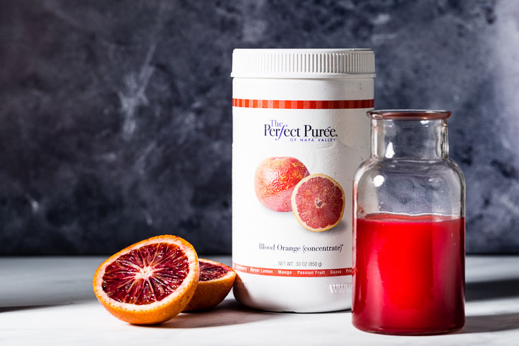 perfect puree blood orange cordial